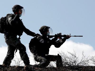 FOTO: Tentara Israel Melukai 7 Warga Palestina di Tepi Barat