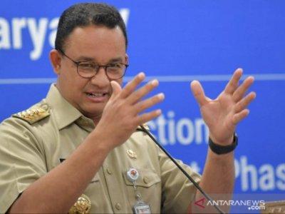 Anies Baswedan Klaim 'Rem Darurat' PSBB Ampuh Tekan Angka Penularan COVID-19 di Jakarta