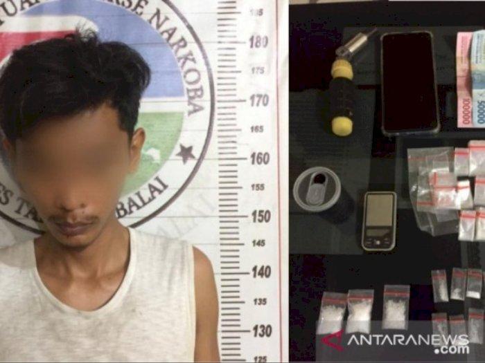 Punya Sabu, Seorang Pelajar dan Temannya Diamankan Polisi di Tanjungbalai