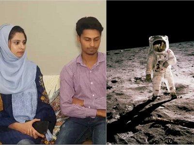 Terinspirasi 'Love You to The Moon and Back', Pria Ini Beli Tanah di Bulan untuk Istri