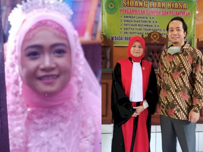 Kabar Duka! Hakim Cantik Meninggal Akibat COVID-19, Curhat Suami Viral, Ini Kronologisnya