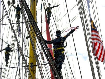 FOTO: Pelayaran Latihan Praktek KJK Akademi Angkatan Laut