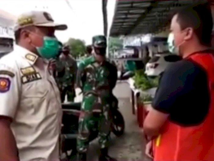 Viral Video Satpol PP Singkawan yang Ngamuk Gegara Warga Tak Pakai Masker: Ku Gampar Kau