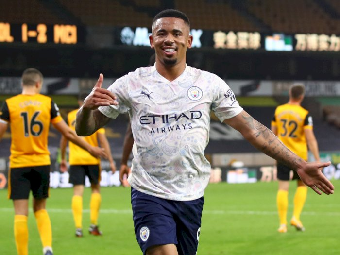 Gabriel Jesus Tambah Daftar Panjang Cedera Pemain Man City