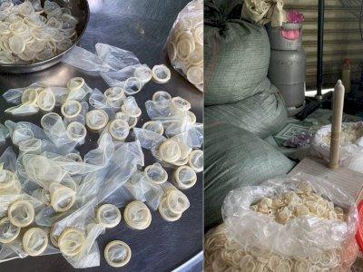 Polisi Vietnam Grebek Pabrik Kondom Bekas, Sita 345 Ribu Kondom yang Dicuci dan Siap Jual