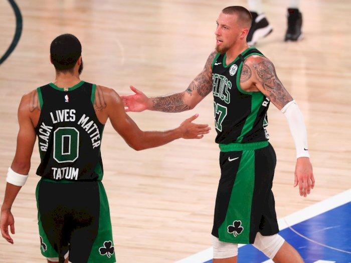 FOTO: Boston Celtics Mengalahkan Miami Heat 121-108