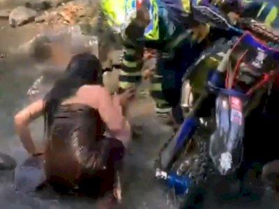 Geger Pemotor Trail Rogoh Kemaluan Gadis Desa Jalur Gowes di Malang, Diduga Masukkan Uang