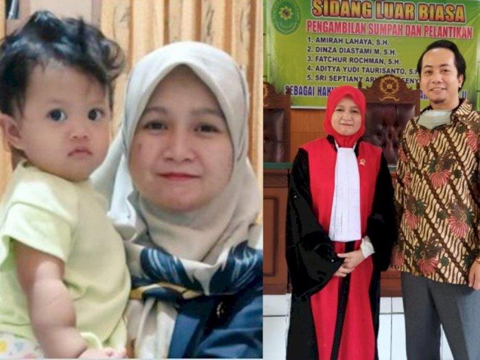 Istri Pria Ini Berprofesi Hakim, Meninggal Dunia Akibat COVID-19, Bayinya Masih 16 Bulan