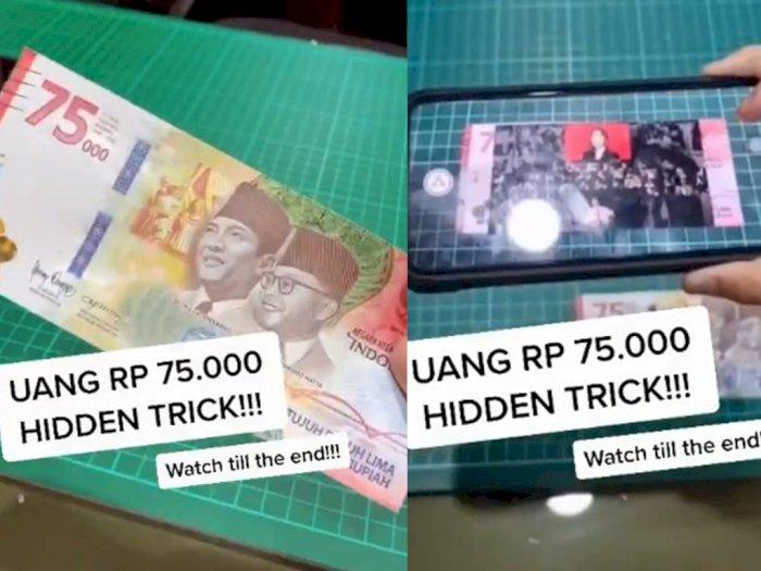 Viral Uang Rp 75 Ribu Bisa 'Bernyanyi' Lagu Indonesia Raya, Begini Penjelasannya