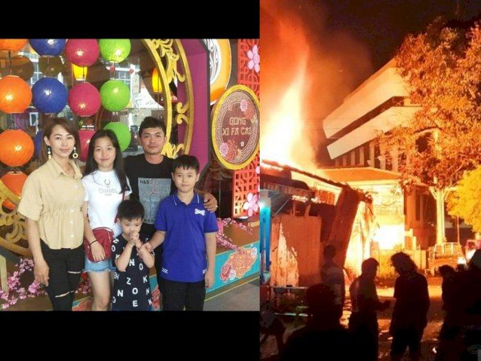 Pilu Suami Coba Selamatkan Istri saat Gas Elpiji Meledak: Istri, 3 Anak, dan Ayahnya Tewas