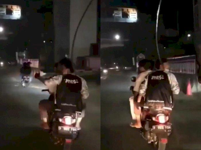 Viral Gerombolan Pemuda Konvoi Bawa Sajam di Jaktim, Polisi Turun Tangan