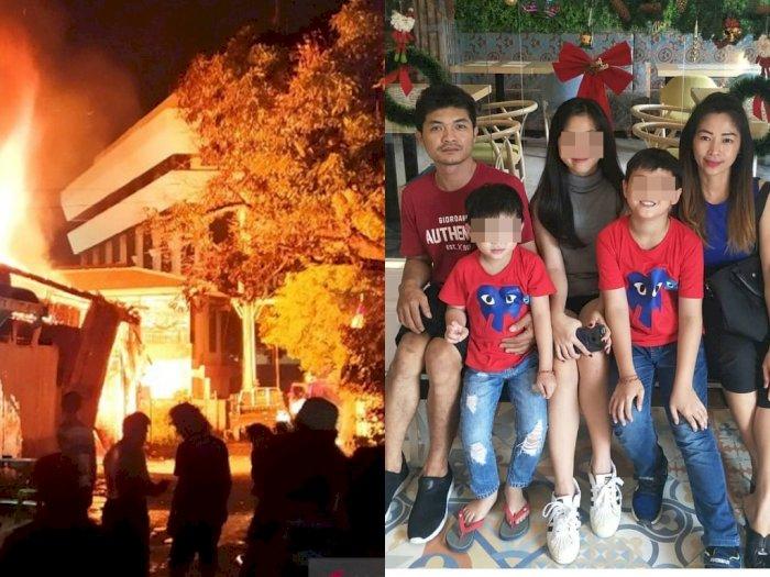 Perjuangan Kong Ameng Selamatkan 3 Cucunya dari Ledakan Tabung Gas Elpiji, Berakhir Tragis