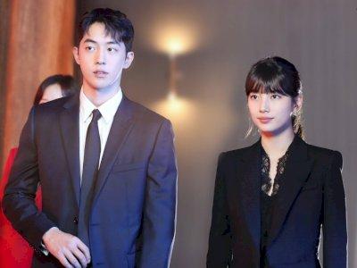 """Drama Terbaru """"Start-Up"""" Tampilkan Foto-foto Suzy dan Nam Joo Hyuk di Balik Layar"""