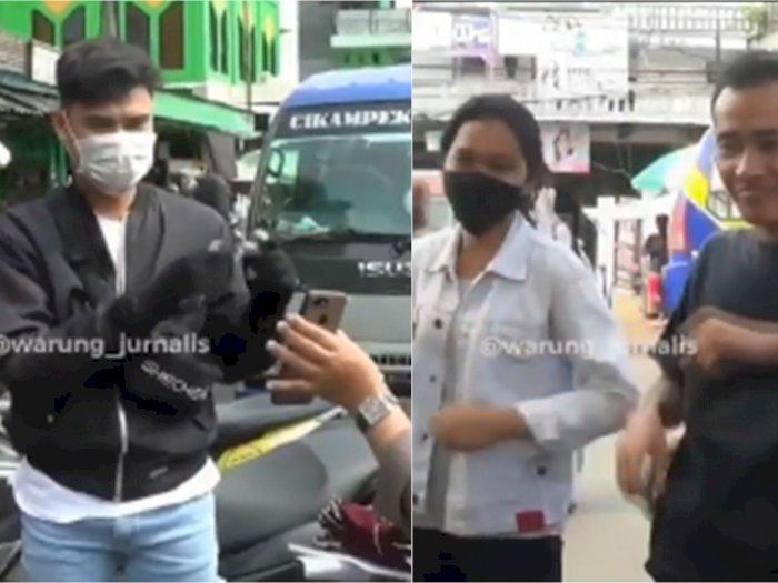Tidak Pakai Masker, Pelanggar di Bekasi Malah Dihukum Joget TikTok, Netizen: Pembodohan!