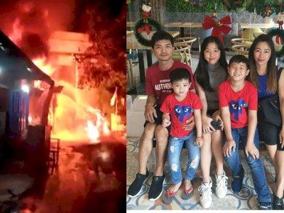 Gas Elpiji Meledak di Dalam Rumah di Siantar: Kakek, 3 Cucu, dan Menantu Tewas Terpanggang