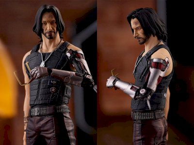 Good Smile Rilis Figur Johnny Silverhand dari Game Cyberpunk 2077