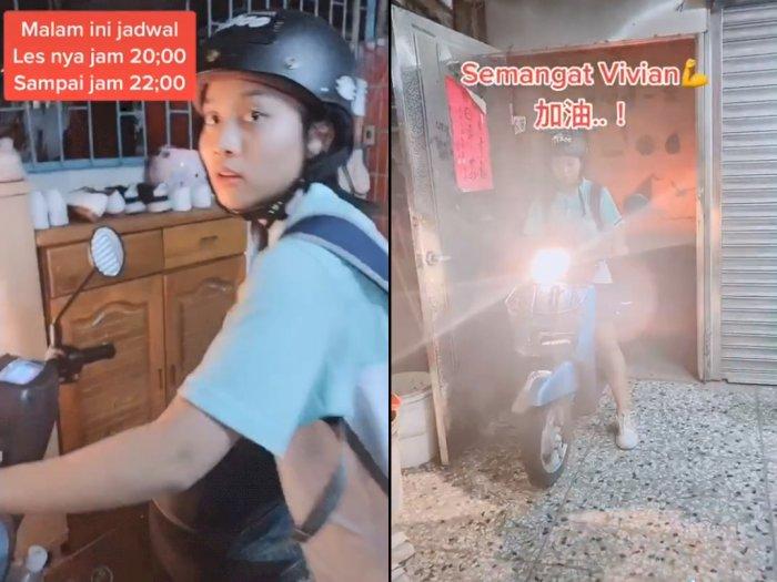 Ibu ini Bagikan Kisah Anaknya yang Les Jam 8 Malam di Taiwan, Netizen: Disiplin Banget