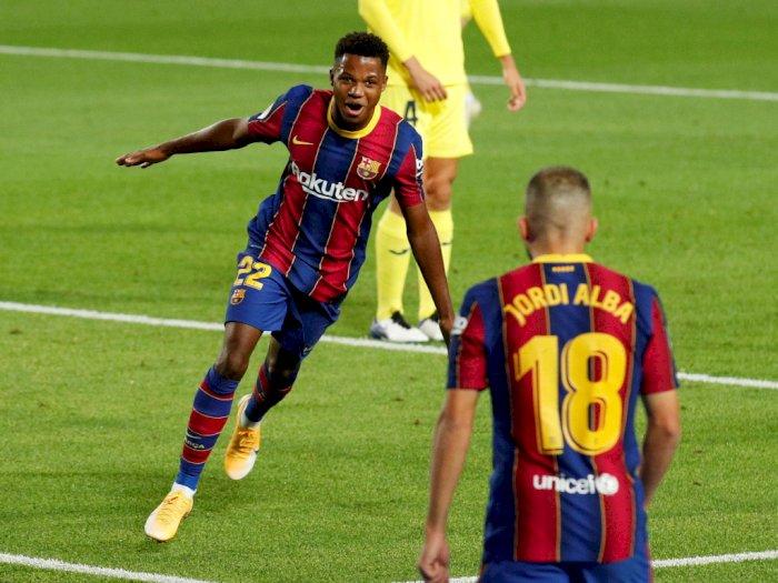 FOTO: La Liga 2020/21: Barcelona Tenggelamkan Villarreal 4-0