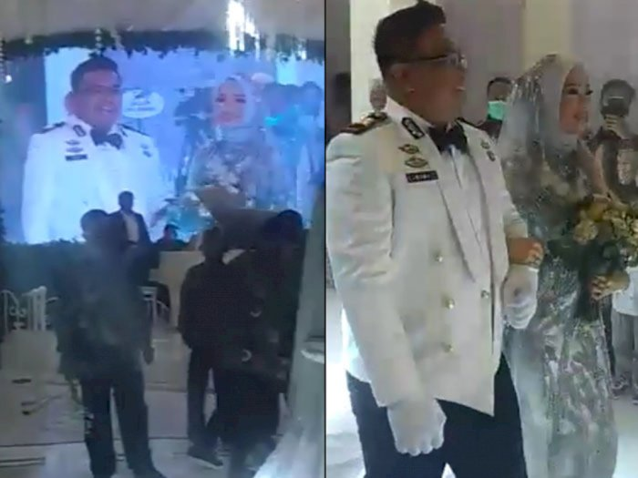 Langgar Maklumat Kapolri, Pejabat Polisi Pangkat AKP Pesta Nikah Besar di Tengah Pandemi