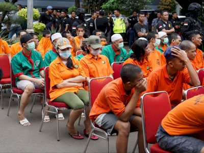 300 Tahanan Polda Metro Jalani Tes Swab Hari Ini