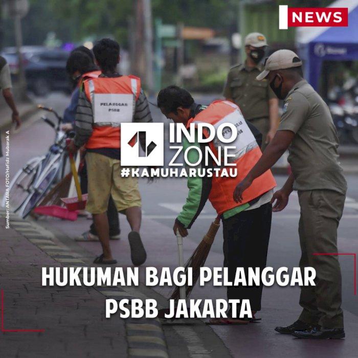 Hukuman Bagi Pelanggar PSBB Jakarta