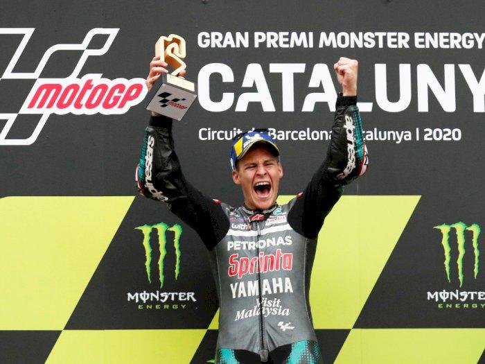 FOTO: Quartararo Memenangkan MotoGP Catalunya, Merebut Kembali Posisi Teratas!