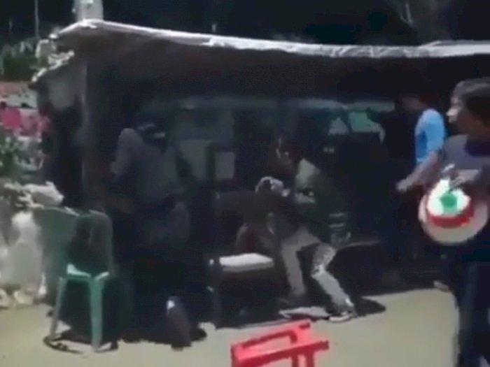 Sadis! Pria Ini Diserang Geng Motor di Tangsel, Tangannya Hampir Putus