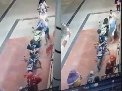 Video Viral Anak Tarik Gas Motor Hingga Terjadi Kecelakaan Saat Sedang Antre di SPBU