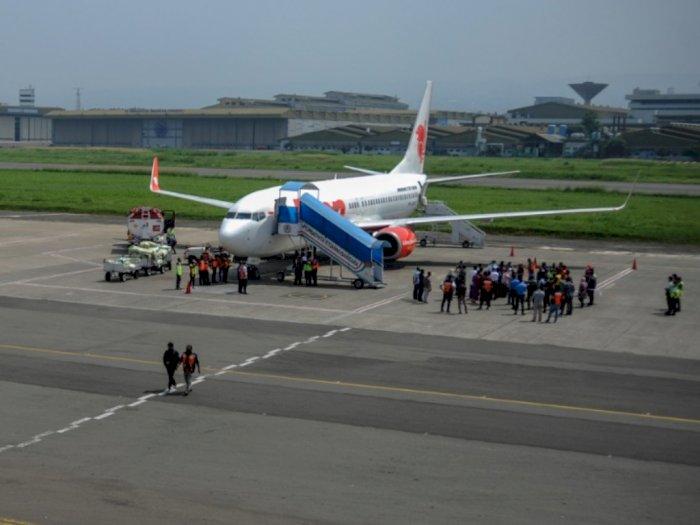 Lion Air Tujuan Lombok-Surabaya Putar Balik, Diduga Ada Kerusakan Mesin