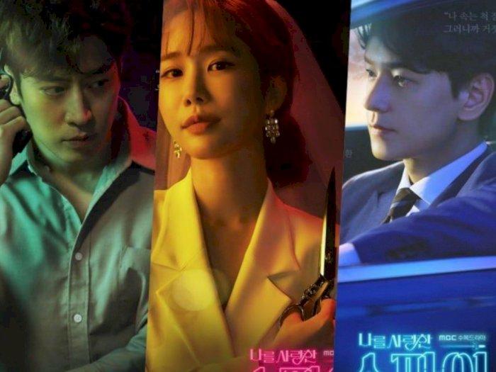 """Drama Terbaru """"The Spies Who Loved Me"""" Bagikan Poster Terbaru Eric Moon dan Yoo In Na"""