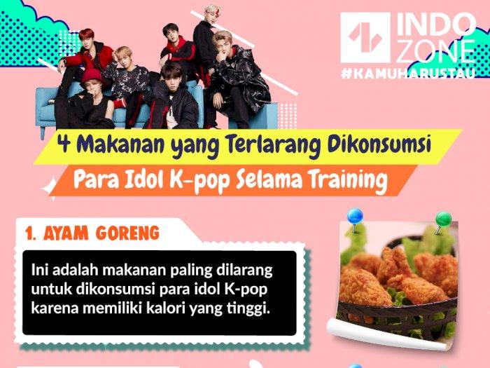 4 Makanan yang Terlarang Dikonsumsi Para Idol K-pop Selama Training