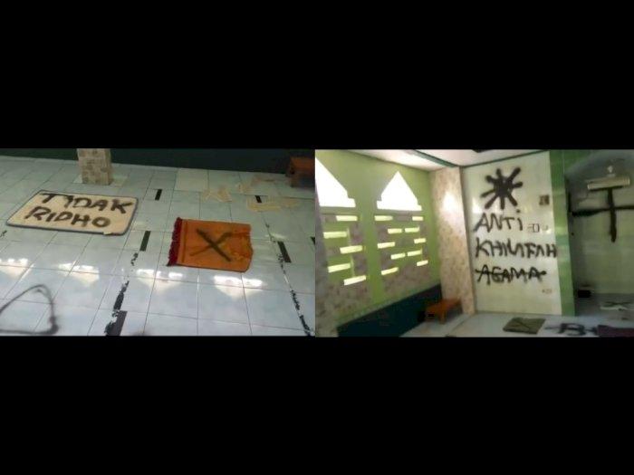 Heboh Musala Dicorat-coret di Tangerang, Polisi Turun Tangan