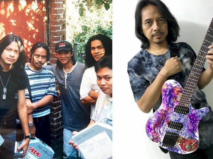Unggah Foto Lawas Band Gigi, Potret Dewa Budjana Curi Perhatian Netizen