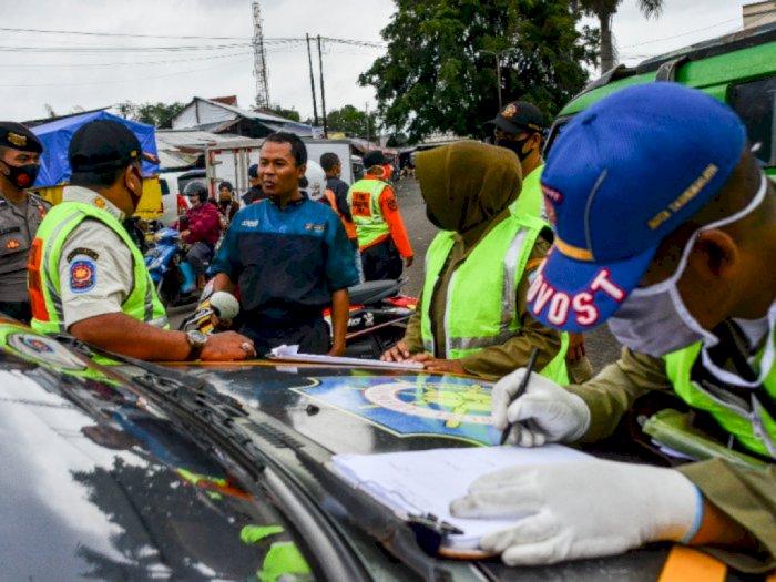 2 Pekan Operasi Yustisi di Jakarta, Polisi: Pelanggar Semakin Hari Menurun