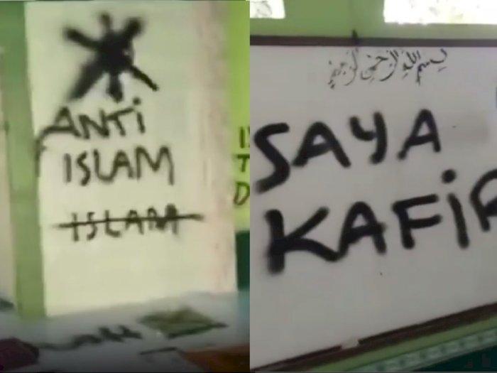 Musala Dicorat-coret 'Anti Islam' dan 'Saya Kafir' di Tangerang, Polisi Cek TKP