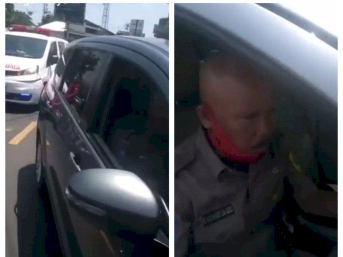 Viral Ambulans Dihadang Oknum PNS di Bogor, Ini Cerita Sebenarnya