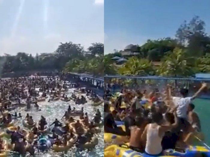 Viral Party di Kolam Renang di Medan Tak Patuhi Protokol Kesehatan, Ini Kata Gugus Tugas