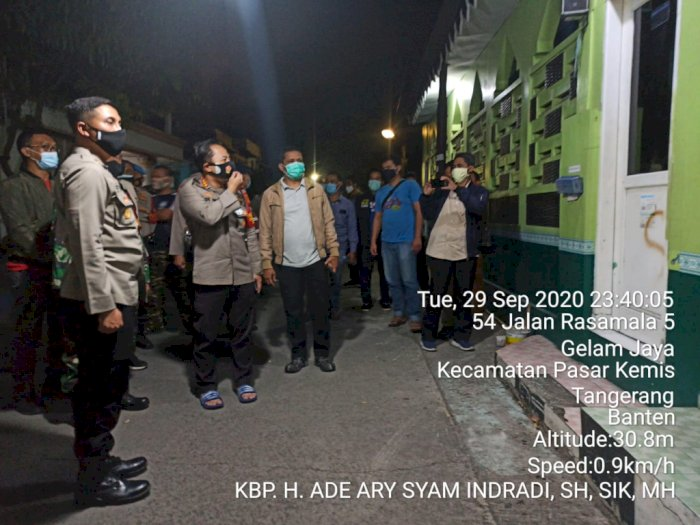 Kondisi Terkini Musala yang Dicorat-coret di Tangerang: Sudah Dibersihkan