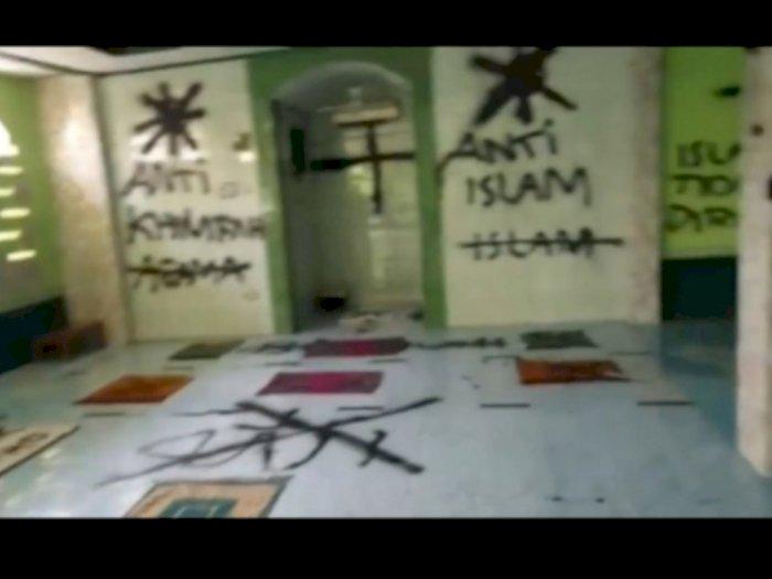 Polisi Ungkap Motif Pelaku Pencorat-coret Musala Tangerang, Ternyata Karena Ini...