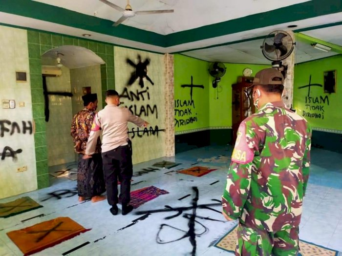 Vandalisme di Musala Darussalam, MUI: Tidak Beradab