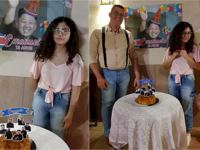 Gadis Ini dapat Kejutan Ultah Bertema K-pop dari Kakaknya, Malah Disambut Kim Jong Un