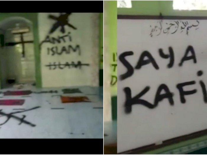Pelaku Coret Musala di Tangerang Masih 18 Tahun, Ngaku Kafir dan Anti-Islam