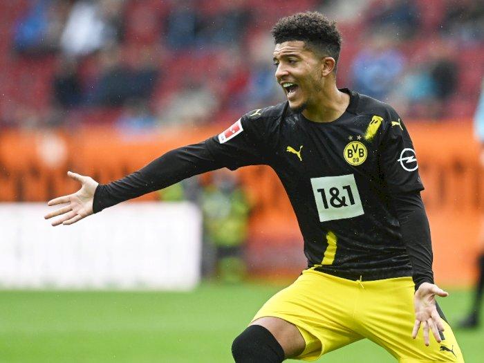Infeksi Saluran Pernapasan, Jadon Sancho Bakal Absen di Laga Dortmund Kontra Bayern