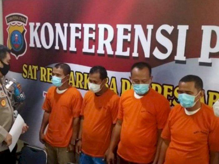 Kepala Dinas di Aceh Pesta Narkoba di Medan