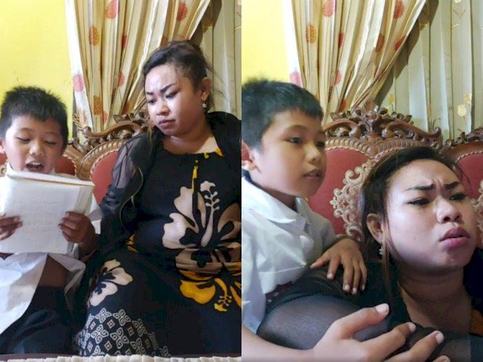 Lucunya Ibu ini  Ajarkan Anaknya Pancasila Saat Sekolah Daring, Bikin Netizen Ngakak