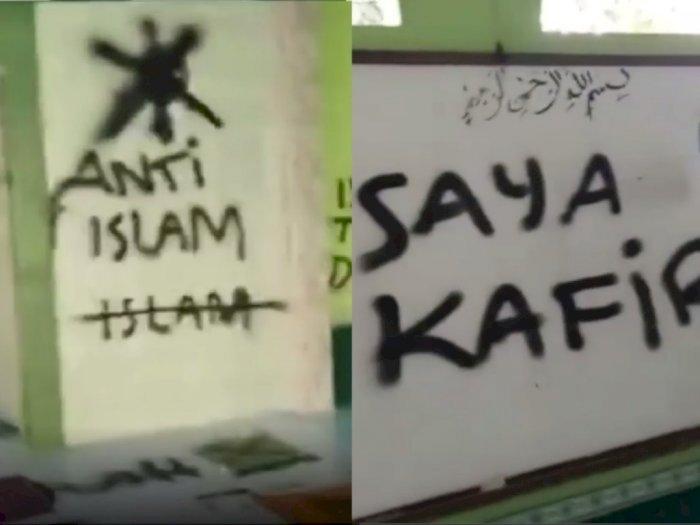 Polda Banten Cek Kejiwaan Pelaku Pencorat-coret Musala di Tangerang