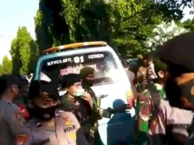 Aksi Tabur Bunga Purnawirawan TNI yang Dihadiri Gatot Nurmantyo Berujung Ricuh