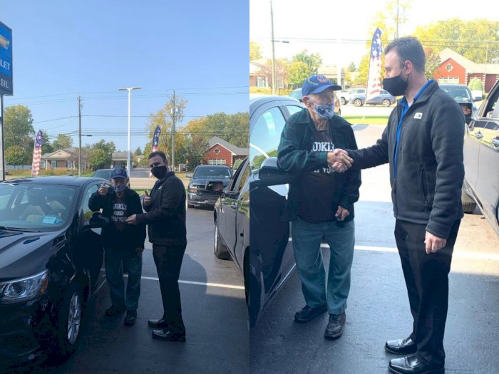 Dealer Chevrolet Beri Seorang Veteran Perang Berusia 104 Tahun Mobil Gratis, Ini Kisahnya!