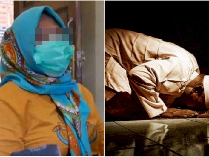 Seorang Wanita Pukul Imam Masjid Pakai Kayu Balok saat Sedang Sujud, Tulang Korban Patah