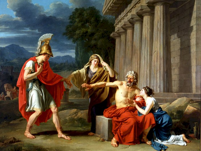 Kisah Tragis Raja Oedipus yang Menikahi Ibunya Dalam Mitologi Yunani